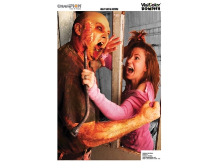 "Champion VisiColor Zombie Hostage Target 12"" x 18"" Paper Package of 6"