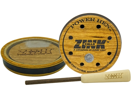 Zink Power Hen Crystal Turkey Call Thunder Ridge Series