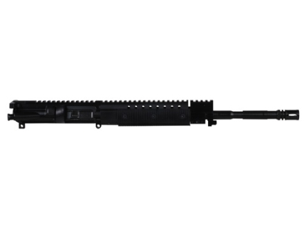 "CMMG AR-15 M4 LEP A3 Flat-Top Upper Assembly 22 Long Rifle 1 in 16"" Twist 16"" Barrel WASP Melonite Finished Chrome Moly Matte with Revolution Handguard, Single Rail Gas Block, Flash Hider"