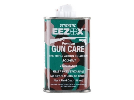 Eezox Synthetic Gun Oil 4 oz Liquid
