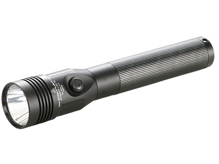 Streamlight Stinger Flashlight LED HL (High Lumens) with Rechargeable Ni-MH Battery without Charger Aluminum Black