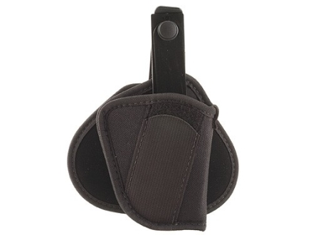 "Uncle Mike's Paddle Holster Right Hand Small Frame 5-Round Revolver with Hammer 2"" Barrel Nylon Black"