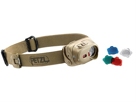 Petzl TacTikka XP Headlamp LED Bulb with Batteries (AAA) Polymer