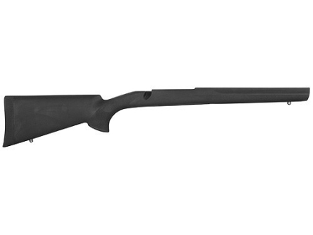 Hogue OverMolded Rifle Stock Ruger M77 Mark II Long Action Standard Pillar Bed Rubber Black