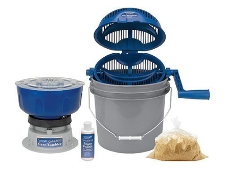Frankford Arsenal Quick-N-EZ Case Tumbler Master Kit with Quick-N-EZ Rotary Media Separator