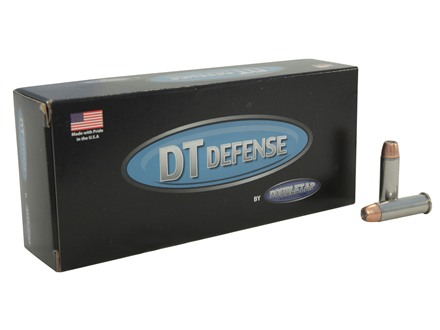 Doubletap Ammunition 38 Special +P 125 Grain Semi-Jacketed Hollow Point Box of 20