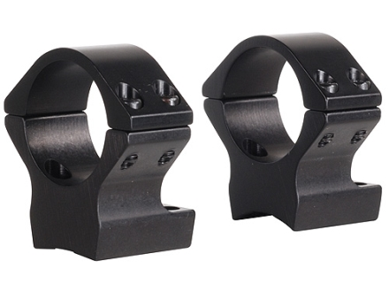 "Talley Lightweight 2-Piece Scope Mounts with Integral 1"" Rings Browning X-Bolt Matte Low"