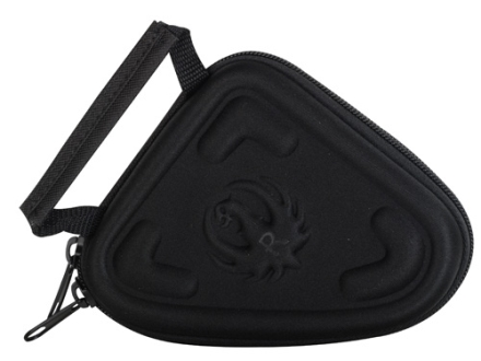 "Ruger 5"" Molded Compact Pistol Gun Case Foam Shell Black"