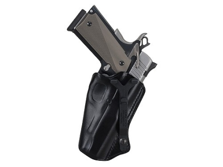Galco SkyOps Inside the Waistband Holster Ambidextrous 1911 Commander Leather Black
