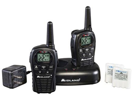 Midland LXT500VP3 Two-Way Radio Combo
