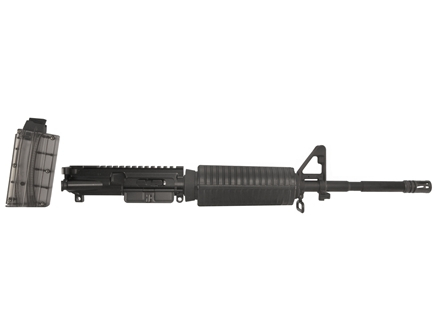 "DPMS AR-15 AP4 A3 Flat-Top Conversion Upper Assembly 22 Long Rifle 1 in 16"" Twist 16"" M4 Contour Barrel Chrome Moly Matte with GlacierGuard Handguard, Flash Hider, 10-Round Magazine"