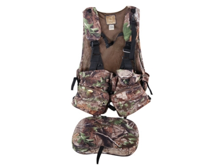 Ol' Tom Duralite Time & Motion I-Beam Turkey Vest Realtree APG Camo