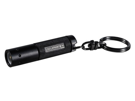 Led Lenser K1 Flashlight LED with 4 AG3 Button Batteries Aluminum Black