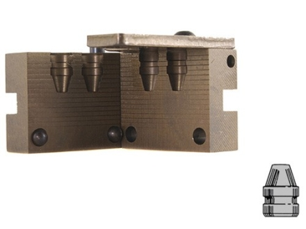 Saeco 2-Cavity Bullet Mold #040 40 S&W, 10mm (401 Diameter) 155 Grain Semi-Wadcutter Bevel Base