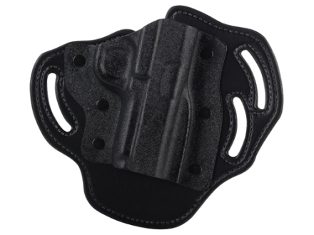 DeSantis Intimidator Belt Holster Right Hand 1911 Government, Commander Kydex and Leather Black