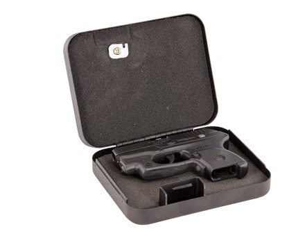 "LOCKDOWN Ultra Compact Pistol Security Box 5"" x 6-1/2"" x 2"" Steel Black"