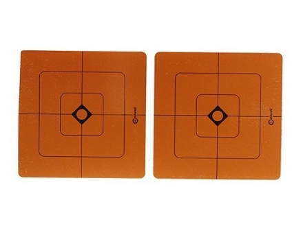 "Caldwell Shooting Squares 3"" Pack of 12 Sheets 2 Squares per Sheet Orange"