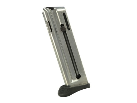 Walther Magazine Walther P22 Q-Style 22 Long Rifle 10-Round Steel Nickel Plated with Finger Rest