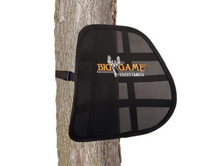 Big Game Spring-Back Treestand Lumbar Support Nylon Black