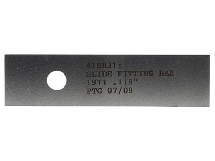 PTG Slide Fitting Bar 1911 .118""