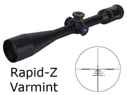 Zeiss MC Conquest Rifle Scope 6.5-20x 50mm Side Focus Target Turrets Rapid Z Varmint Reticle Matte