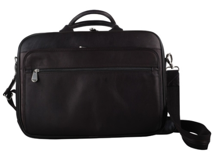 Gun Tote'N Mamas Men's Briefcase Leather Brown