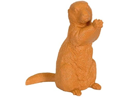 Just Shoot Me Products Prairie Dog Reactive Target Ballistic Polymer Natural