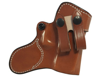 DeSantis Inner Piece Inside the Waistband Holster Right Hand Glock 26, 27, 33 Leather Tan