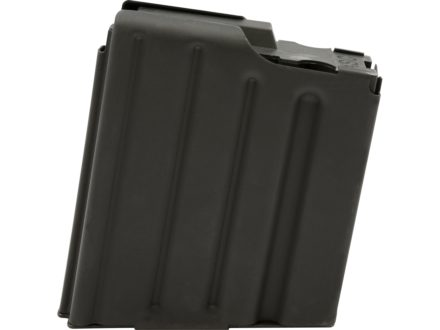 AR-Stoner Magazine LR-308, GII, SR-25 308 Winchester 5-Round with Anti Tilt Follower Stainless Steel Black
