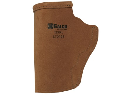 Galco Stow-N-Go Inside the Waistband Holster S&W J Frame, 36, 442, 649 Bodyguard Leather Brown