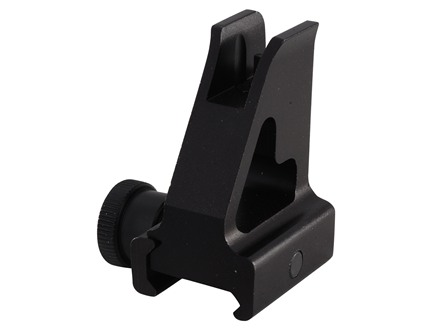 UTG Detachable Front Sight Gas Block Height AR-15, LR-308 Steel Matte