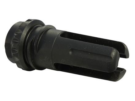 "Advanced Armament Co (AAC) Blackout Flash Hider 18-Tooth Spring Suppressor Mount 7.62mm 9/16""-24 LH Thread Steel Matte"
