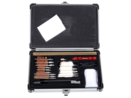 Winchester 30-Piece Universal Gun Cleaning Kit in Aluminum Case