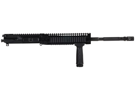 "Daniel Defense AR-15 DDM4v4 A3 Flat-Top Upper Assembly 5.56x45mm NATO 1 in 7"" Twist 16"" M4 Barrel Chrome Lined CM with DDM4 9.0 Quad Rail Free Float Handguard, Flash Hider"