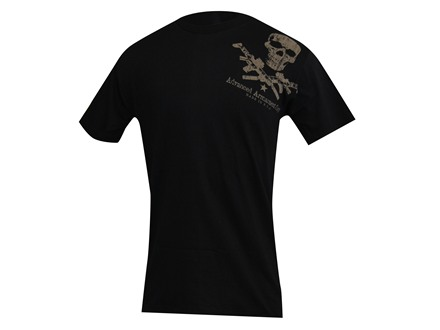 Advanced Armament Co (AAC) Shoulder X-Guns Logo T-Shirt Short Sleeve Cotton