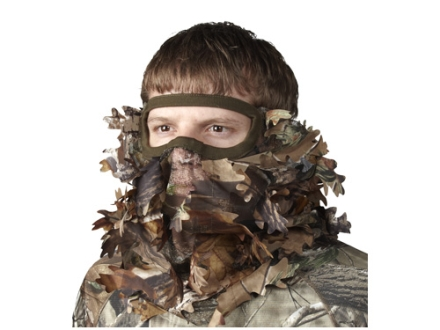Hunter's Specialties Leafy 3/4 Headnet Polyester Realtree AP Camo