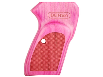 Bersa Grips Bersa Thunder 380, Firestorm 380/22 with Bersa Logo Pink Laminate
