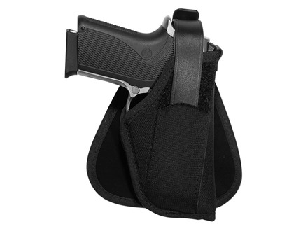 Uncle Mike's Paddle Holster Right Hand 1911 Government, Browning Hi-Power Nylon Black