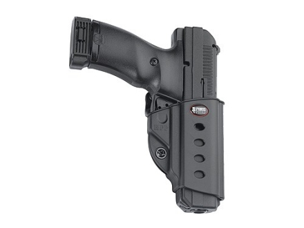 Fobus Evolution Roto Belt Holster Right Hand H&K USP Full Size 45 ACP, Tactical Polymer Black