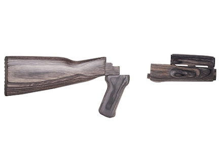 TAPCO TimberSmith Complete Buttstock and Handguard Set AK-47, AK-74 Stamped Receivers Laminated Wood