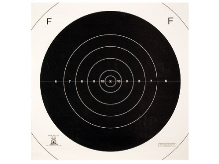 NRA Official F-Class Rifle Target Repair Center MR-63FC 300 Yard Paper Package of 100
