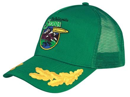 Sierra Shooter's Cap Cotton and Mesh Green