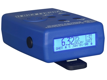 Competition Electronics Pocket Pro II Shot Timer Blue