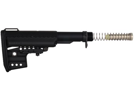 Vltor Clubfoot IMOD Basic Buttstock Assembly 5-Position Mil-Spec Diameter Collapsible AR-15 Carbine Synthetic