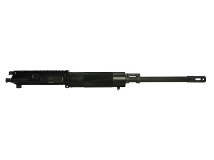 "Bushmaster AR-15 A3 Flat-Top Upper Assembly 450 Bushmaster 1 in 24"" Twist 16"" Barrel Chrome Moly Matte with Free Float Handguard,""Izzy"" Muzzle Brake, 5-Round Magazine"