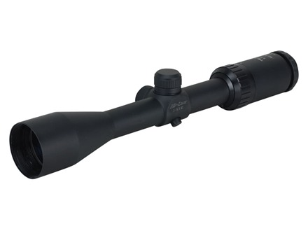 Leatherwood Hi-Lux Toby Bridges HPML Rifle Scope 3-9x 40mm Muzzleloader Ranging Reticle Matte
