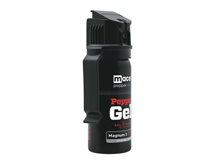 Mace Brand Large Gel Pepper Spray 45 Gram Aerosol 10% OC Gel Plus UV Dye Black