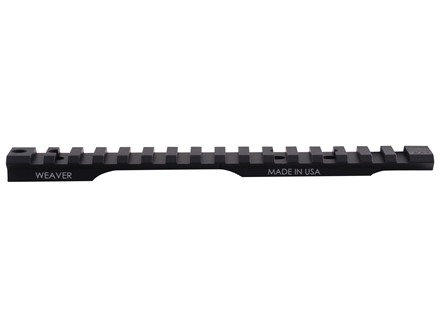 Weaver 1-Piece Extended Multi-Slot Tactical Picatinny-Style Base Remington 700 Short Action