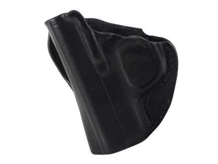DeSantis Mini Scabbard Outside the Waistband Holster Left Hand Kimber Solo Leather Black