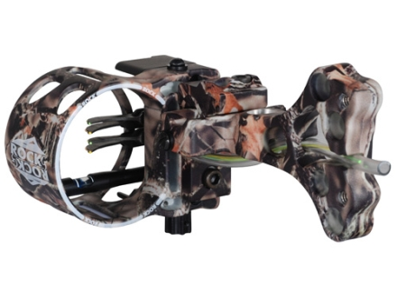 "G5 Rock 4-Pin Bow Sight .019"" Pin Diameter Ambedextrous Aluminum Lost Camo"